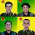 Efrîn saldırısında yaşamını yitiren 4 YPG'linin kimliği açıklandı