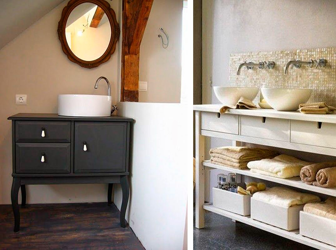 Design craft i love ikea hacks for Arredo bagno ikea