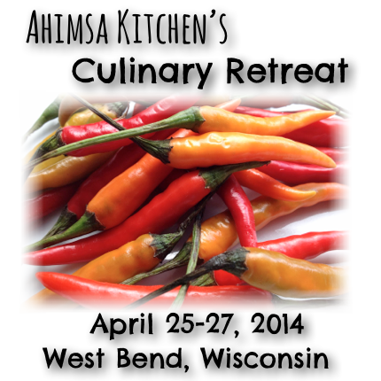 Learn with Ahimsa Kitchen LIVE!