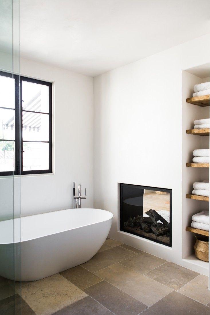 Studio karin: kalksten i badrum   och ett par ord om sten och trend
