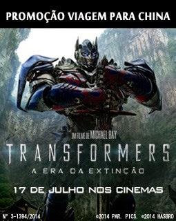 """Promoção Rádio Transámerica + Paramount Pictures- """"Transformers: A Era da Extinção"""""""