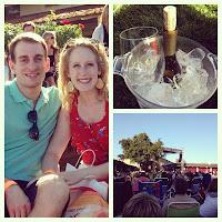 Mondavi Winery concert