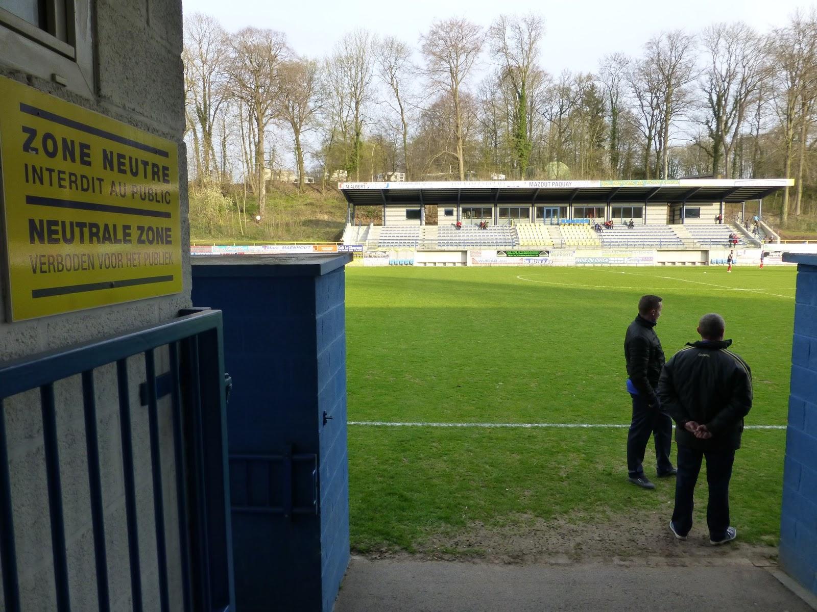 Extreme Football Tourism: BELGIUM: R Sprimont Comblain Sport