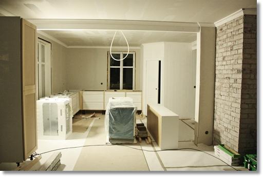 Bänksskåp spis köksskåp kök renovering