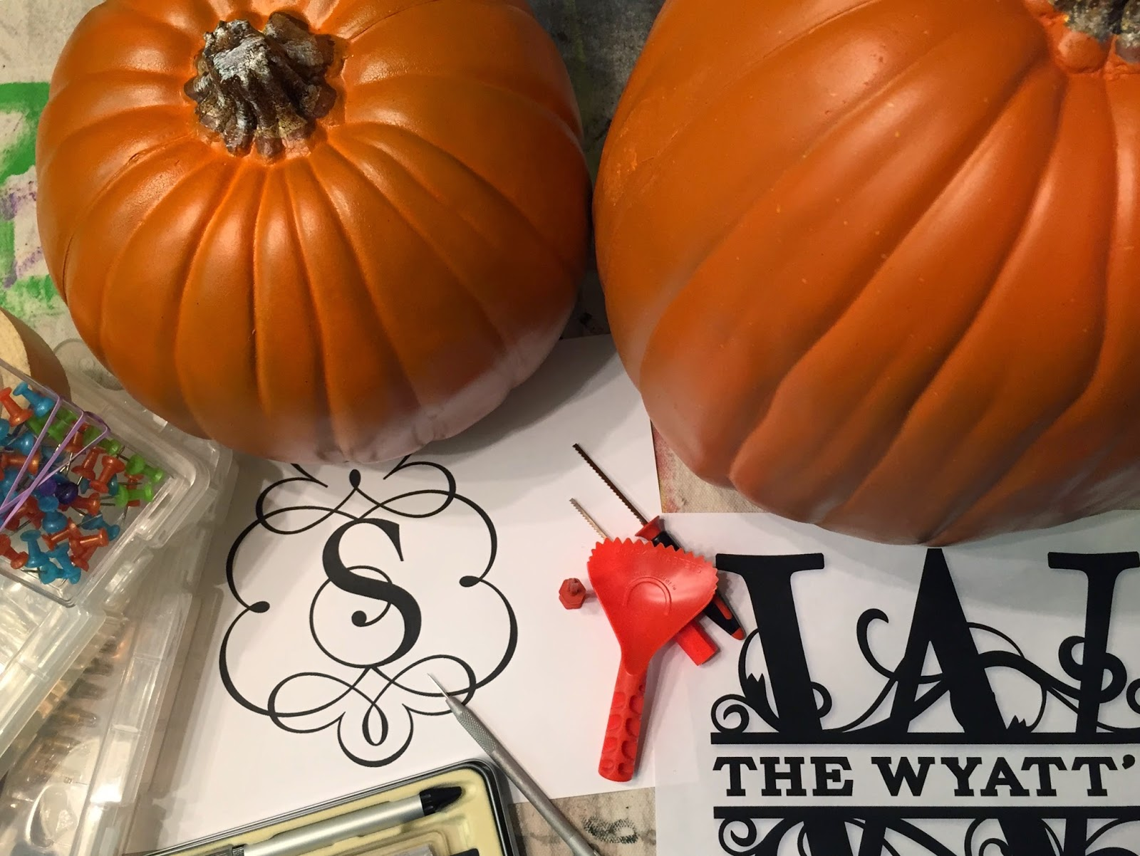 Custom faux foam pumpkin tutorial