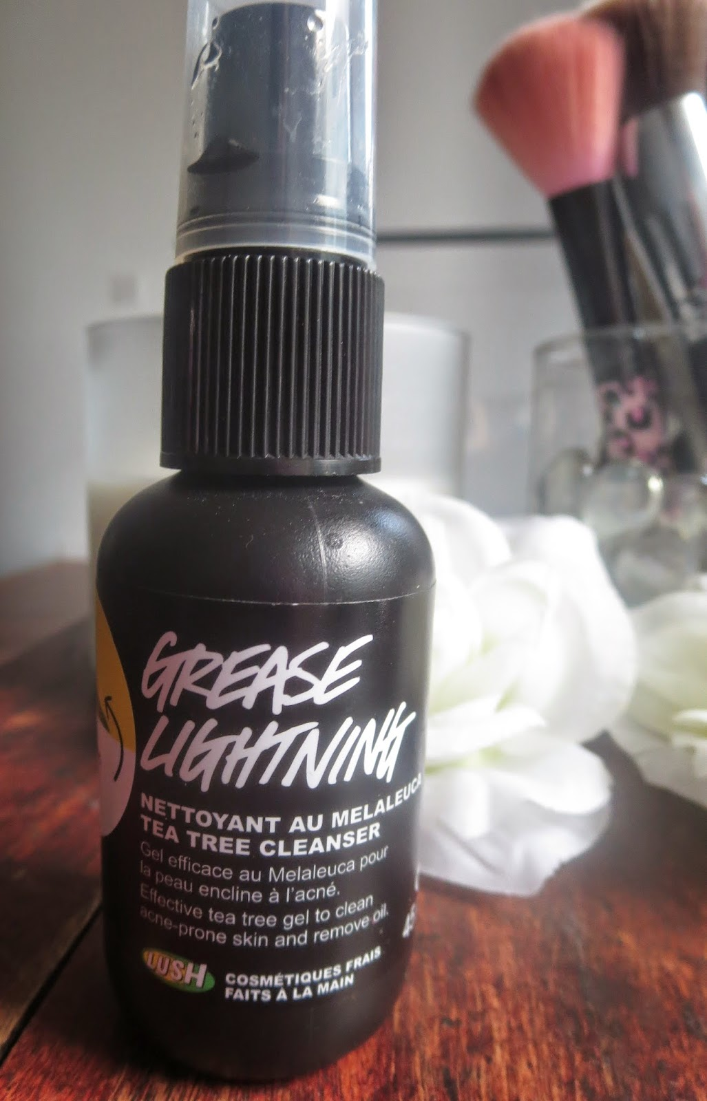 a picture of Lush Grease Lightning (review)