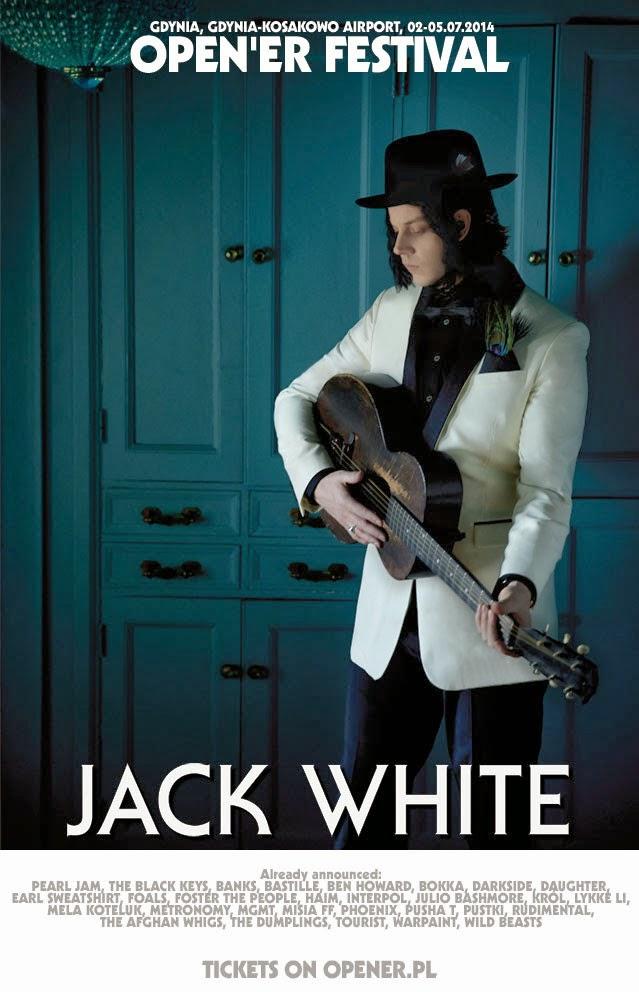 Jack White Show Open'er 2014
