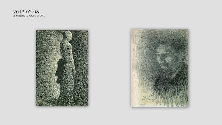SEURAT, Georges-Pierre (1859-1891) e LAURENT, Ernest Joseph (1859-1929).