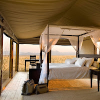 Glamping on Safari