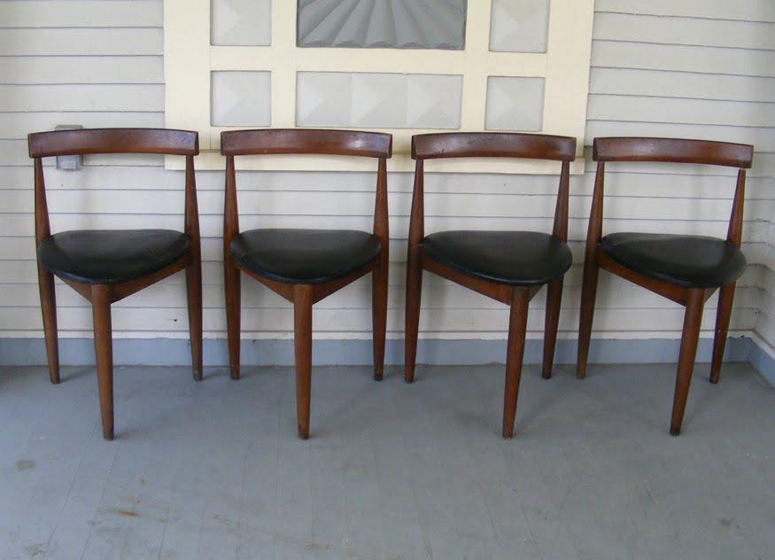 Hans Olsen Dining Chairs Danish Modern
