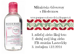 Mikulášska Giveaway s Biodermou