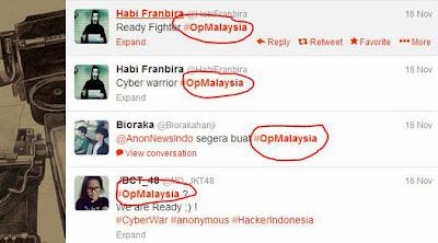 Setelah Australia, Hacker Indonesia Serukan #OpMalaysia