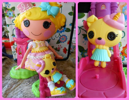 Lalaloopsy Candle Slice O' Cake collage 1