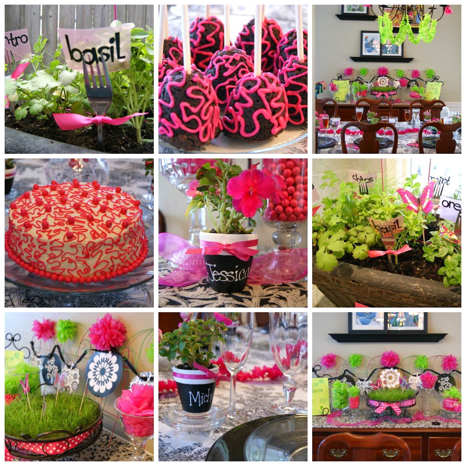 Michelle paige blogs 15 mother 39 s day party ideas for B day party decoration