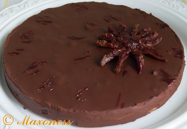 Шоколадный тарт с инжиром и портвейном от Пьера Эрме