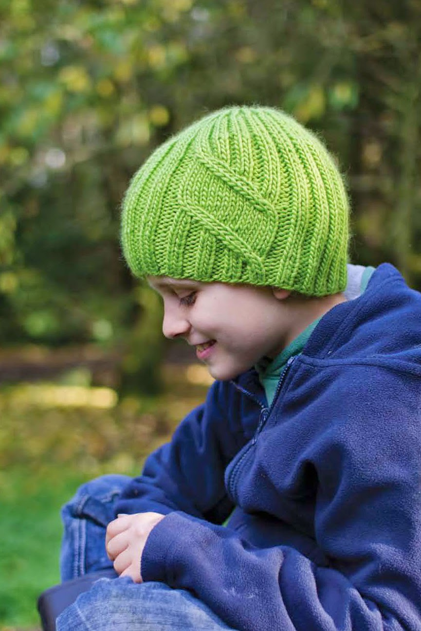 Simonside hat pattern by Katya Frankel. Head to Toe: Kids' Knit Accessories.