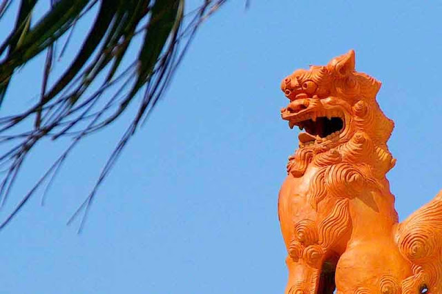 Statue, Shisa, Lion dog