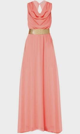 vestido largo de Poete para invitadas de boda