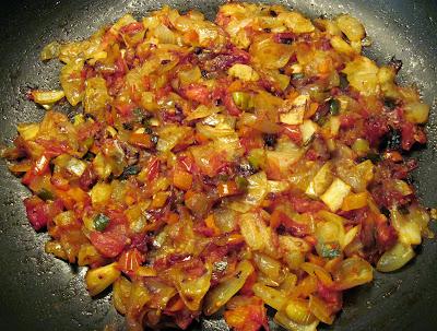 caramelizing vegetables