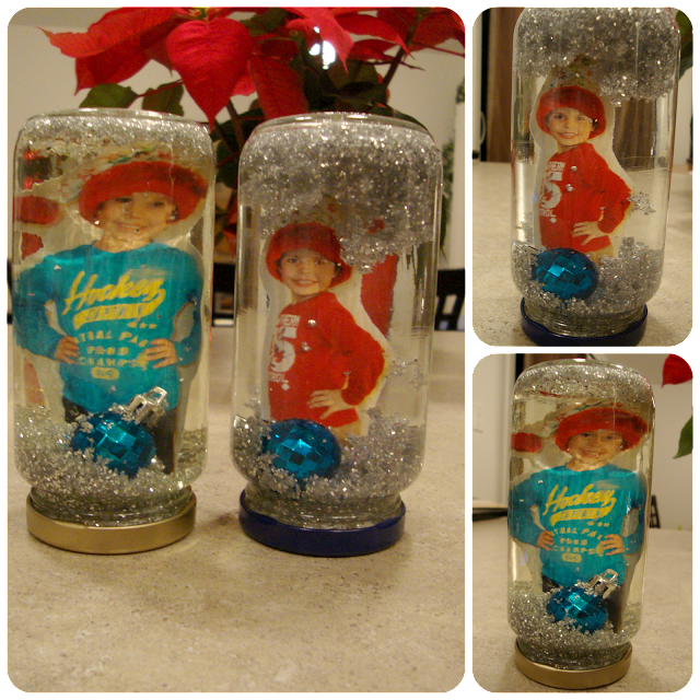 DIY Picture Snow Globe