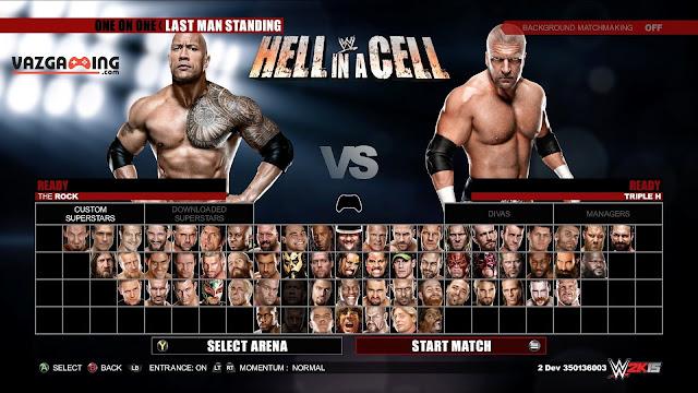 WWE 2k15 Gameplay 3