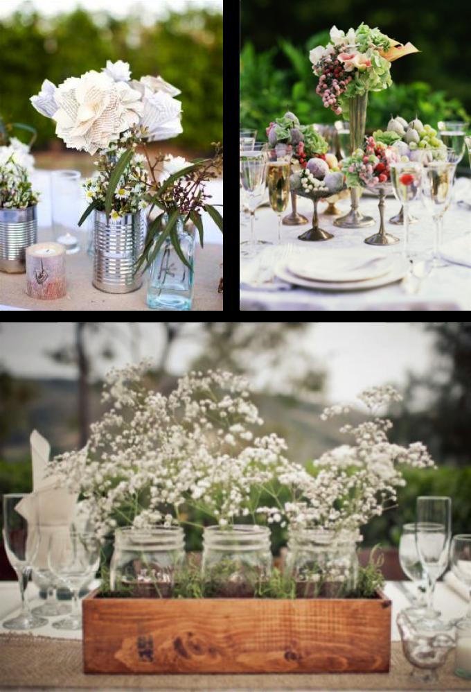 Momentips las nuevas tendencias bodiles - Centros mesa boda ...