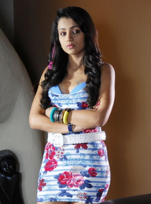 Hot South Queen Trisha Pictures