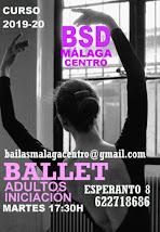 BALLET ADULTO INICIACIÓN LOS MARTES EN BSD MÁLAGA CENTRO 622718686