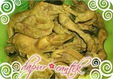 gambar resep masakan gulai kari ayam dapur cantik