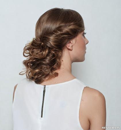 fryzura ślubna 9