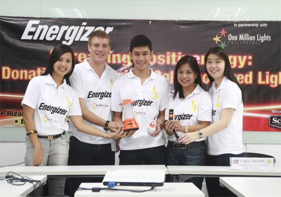 Energizer Spreads Positivenergy by Lighting Up Poor Communities with OML Phils.