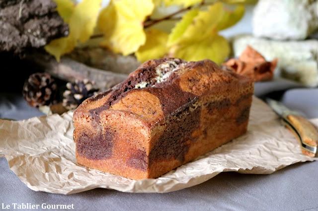 Le marbré vanille-tonka-chocolat de Christophe Felder (vous ne verrez plus le Savane et Brossard de la même manière)