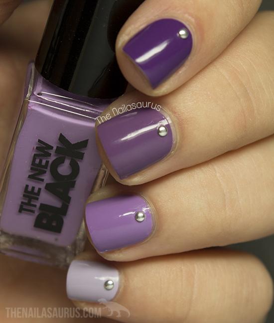 31DC2013 Day 6: Violet Nails - The Nailasaurus | UK Nail Art Blog