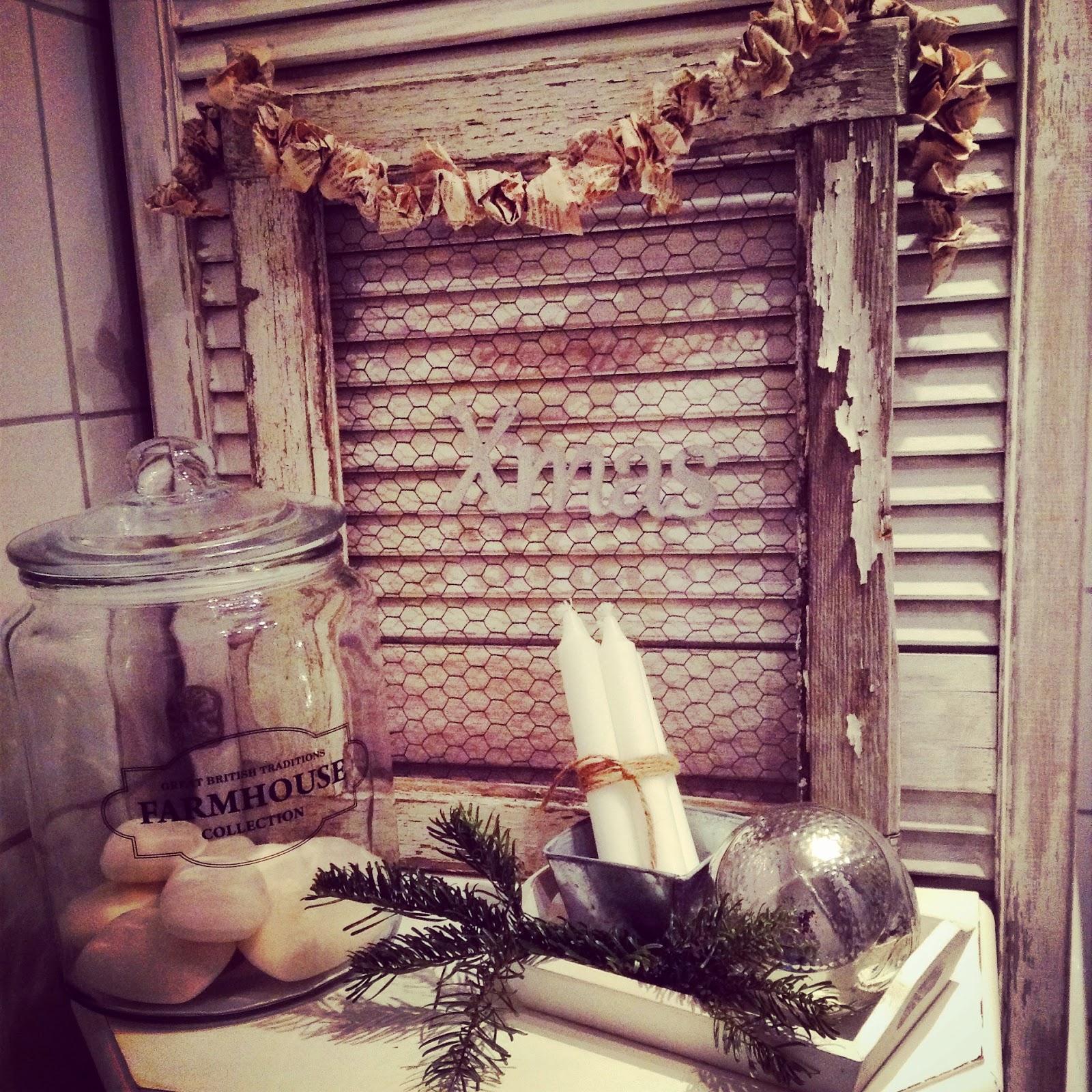 meine kleine gartenwerkstatt premiere weihnachtsdeko im bad. Black Bedroom Furniture Sets. Home Design Ideas
