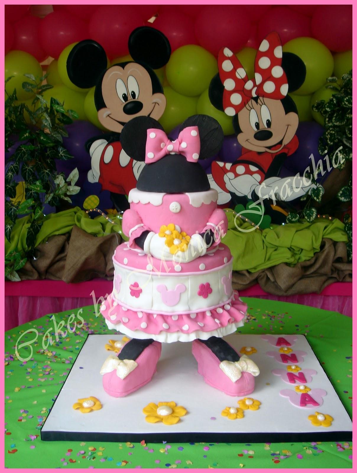Pin Torta Decorada Minnie Mouse Tortas Cakes Monica Fracchia ...
