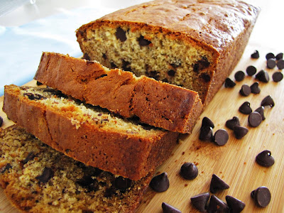Banana Bread with chocolate special occasion Breakfast Recipe in english
