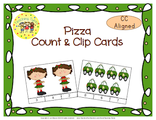 https://www.teacherspayteachers.com/Product/Pizza-Count-Clip-Cards-Common-Core-Aligned-909230