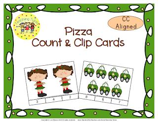 https://www.teacherspayteachers.com/Product/Pizza-Count-Clip-Cards-Common-Core-Aligned-909230