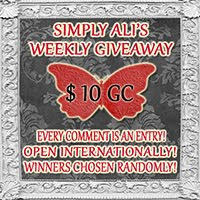 Simply Ali's Weekly Giveaway!!