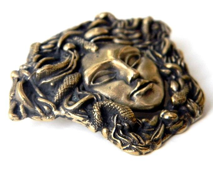 """Кулон """"Горгонейон"""" (1) ювелирные украшения из бронзы глюкоморье"""