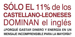 el 11% de los castellanoleoneses dominan el inglés