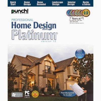 Jual Punch Professional Home Design Suite Platinum V12 Jual