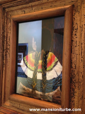 "Feather Art in Patzcuaro, Exhibition ""Feathers and Wind."""
