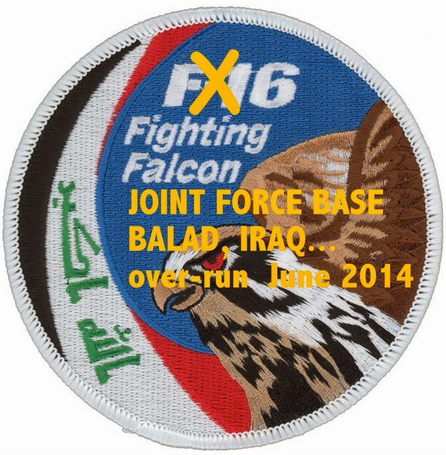 Iraqi Airforce -  F-16 Fighting Falcon shoulder patch