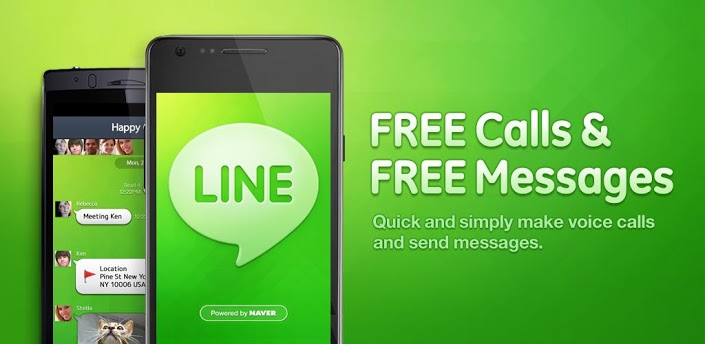 Download line free calls messages for android
