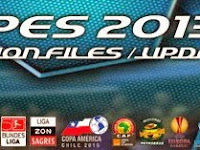 Option File PES 2013 untuk PESEdit 6.0 Update 15 Februari 2015