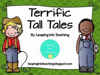 Terrific Tall Tales Unit Suppliment