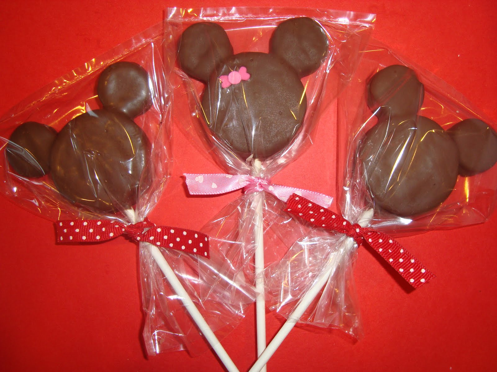 Mickey Mouse Oreo Pops ~ Dip it in Chocolate