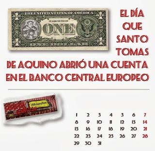 Santo Tomas de Aquino y el Banco Central Europeo