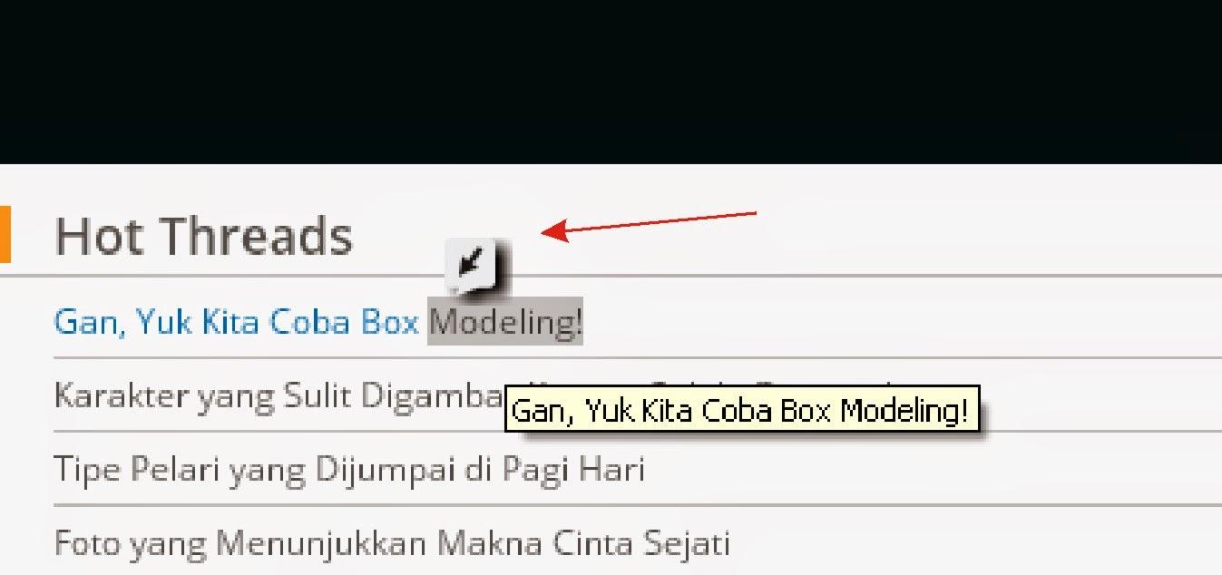 Cara Menghilangkan Click Caption